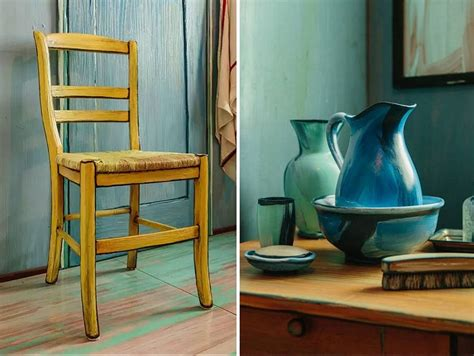 Artistas recrean la famosa habitación de Van Gogh