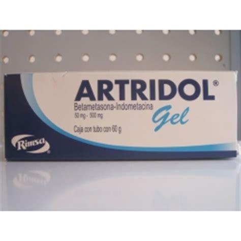 ARTRIDOL GEL (BETAMETASONA/INDOMETACINA) 50MG/500MG 60G ...