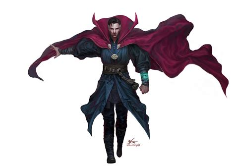 ArtStation   Doctor Strange, InHyuk Lee