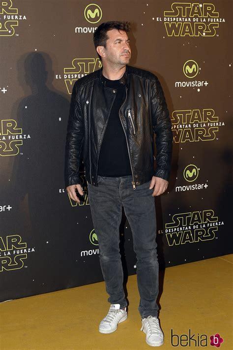 Arturo Valls en el estreno de  Star Wars: El Despertar de ...