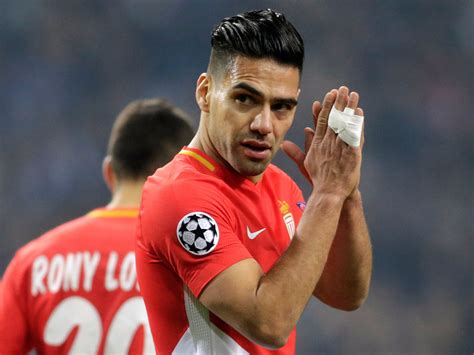 AS Monaco striker Radamel Falcao nets Beckham-esque goal ...