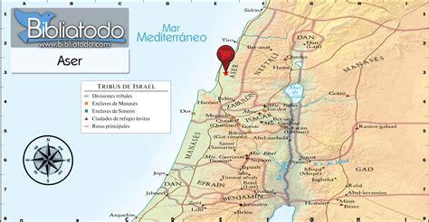Aser - Mapa y Ubicación Geográfica