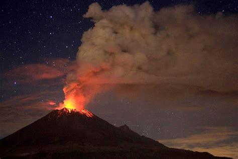 Ash rises from Popocatepetl volcano in Mexico. - ABC News ...