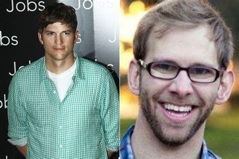 Ashton Kutcher and fraternal twin brother, Michael ...