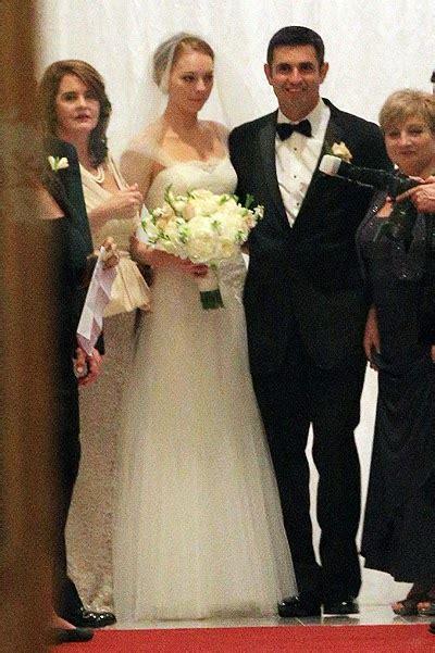 Ashton Kutcher and Mila Kunis attended the wedding of her ...