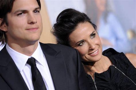 Ashton Kutcher y Demi Moore ya son ex marido y mujer ...