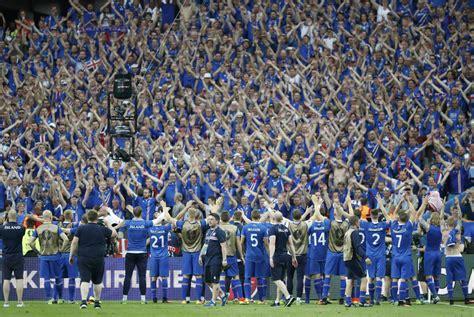 Así celebró Islandia su clasificación a Rusia 2018
