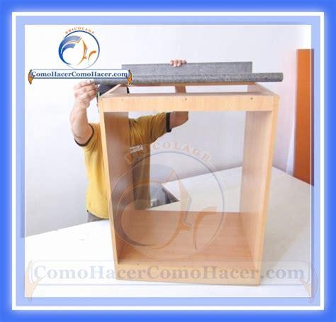 Así de facil se hace un mueble para la cocina.   Hazlo tu ...