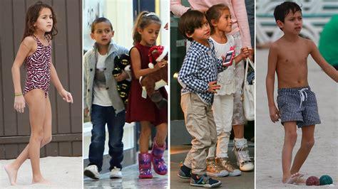 Así de grandes lucen los hijos de JLo y Marc Anthony ...