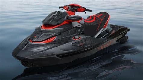 Así es la moto de agua de fibra de carbono de Mansory ...