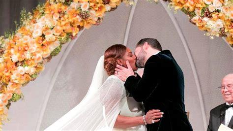 Así fue la boda de Serena Williams y Alexis Ohanian   AS.com