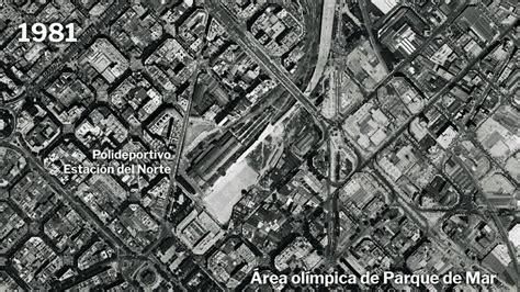 Así ha cambiado Barcelona desde los años 80