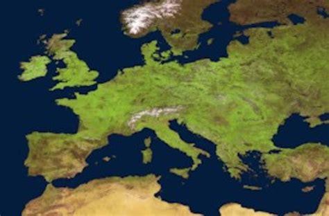 Así se ve desde el espacio Europa en primavera   El Imparcial