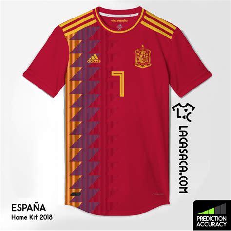 Así será la camiseta de España para el Mundial de Rusia 2018