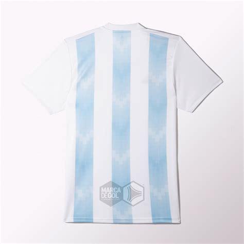 Así será la camiseta que usará Argentina en el Mundial de ...