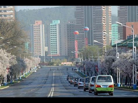 Asi son las calles de Pyongyang - Corea del Norte - YouTube