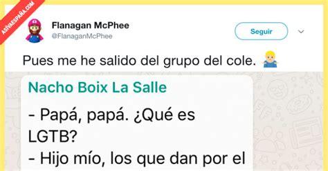 [ ASÍ VA ESPAÑA ] Cuentan un chiste en un grupo de ...