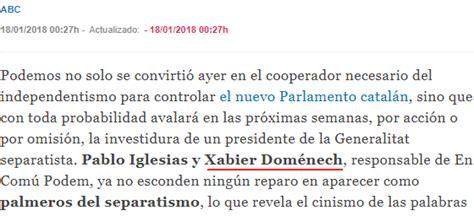 Así ve la prensa española la composición del Parlament