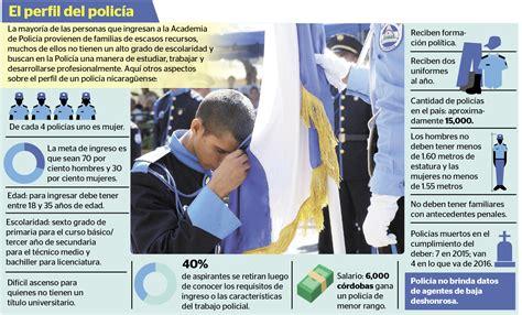 Así vive un policía en Nicaragua