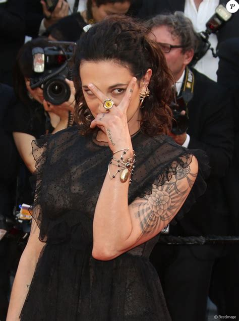 Asia Argento, 41 ans : Le chef Anthony Bourdain  60 ans ...