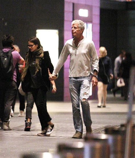 ASIA ARGENTO and Anthony Bourdain Out and About in New ...