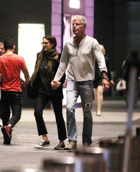 Asia Argento and Anthony Bourdain out in New York City