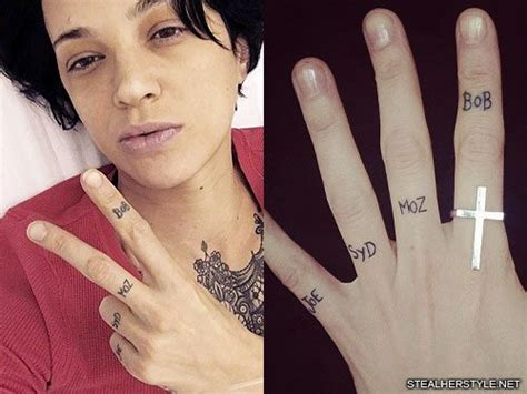 Asia Argento's 21 Tattoos & Meanings | Steal Her Style