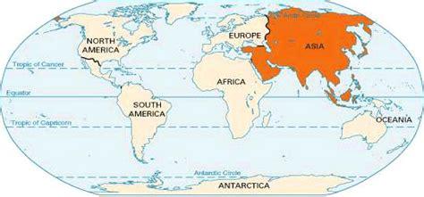 Asia: location    Kids Encyclopedia   Children s Homework ...