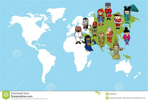 Asia Map Clipart  35+