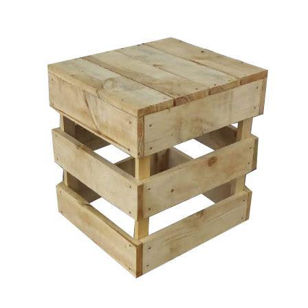 Asiento de pallets sencillo - Palets de madera