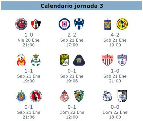 Asistencia de la jornada 4 del futbol mexicano clausura ...