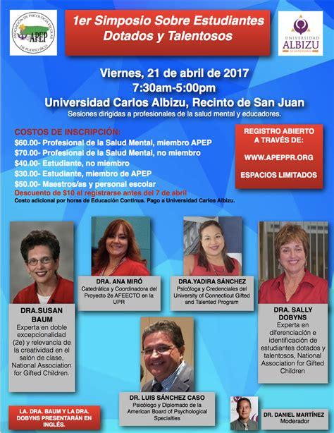 Asociación de Psicología Escolar de Puerto Rico - 1er ...