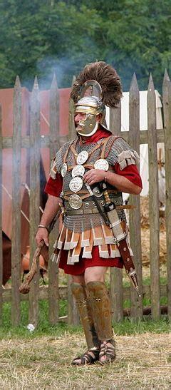 Aspecto de un centurión del año 70 d. C.