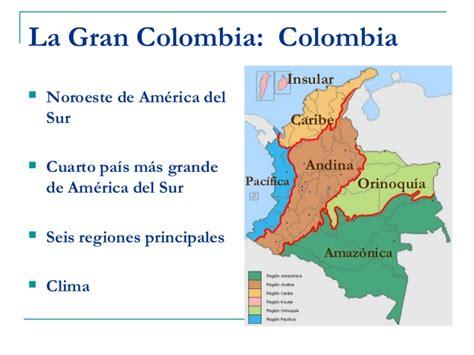 Aspectos fisicos geografia Colombia, Venezuela, Ecuador ...