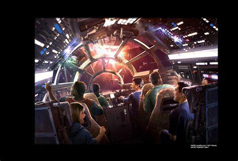Aspiring Jedis can pilot the Millennium Falcon at Disney s ...