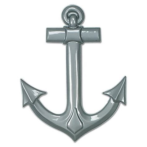 Assorted Plastic Ships Anchors  1/pkg    PartyCheap