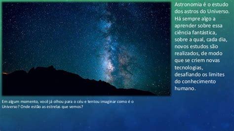 Astronomia e sistema solar