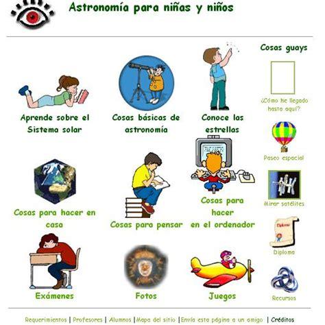 Astronomía para niños - Didactalia: material educativo