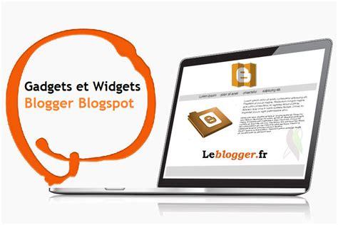 Astuces Blogger - Widgets et des gadgets sur blogger ...