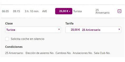 ATENCIÓN: Billetes de AVE por 25€ en Renfe. ¡VOLARÁN!