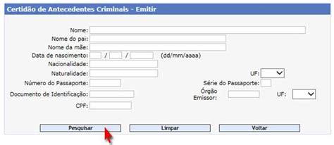 Atestado de Antecedentes Criminais Federal | online, como ...