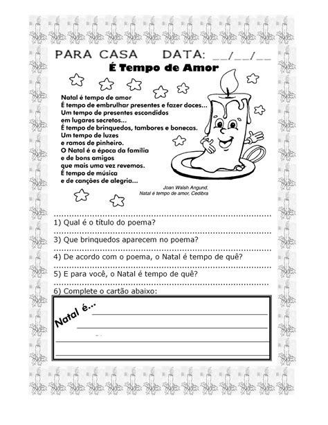 Atividades de Natal: Textos com interpretação! - ESPAÇO EDUCAR