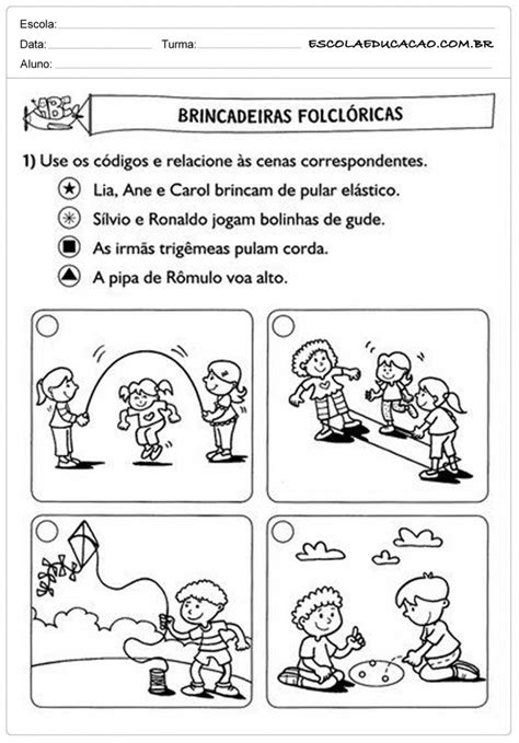 Atividades de Português 2º ano - Para Imprimir - Educação
