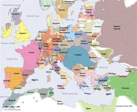 Atlas histórico de Europa interactivo (euratlas.net ...