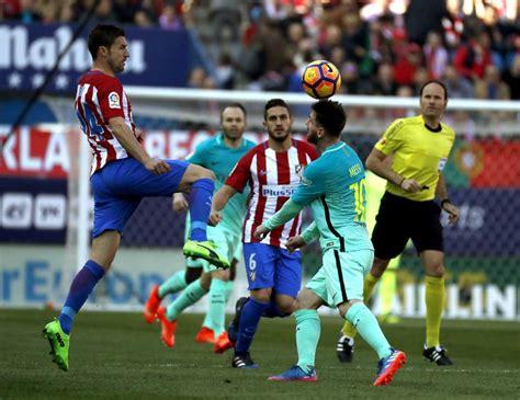 Atlético de Madrid vs Barcelona: horario y dónde televisan ...