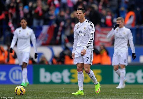 Atletico Madrid 4 0 Real Madrid: Cristiano Ronaldo s first ...