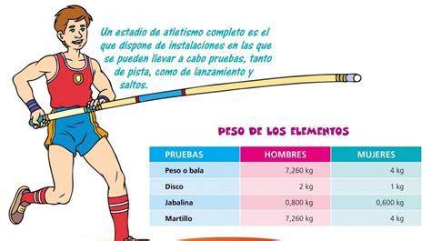 Atletismo: material y equipamiento - Edicion Impresa - ABC ...