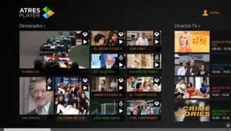 Atresplayer, las emisiones del grupo Antena 3 en tu Modern UI