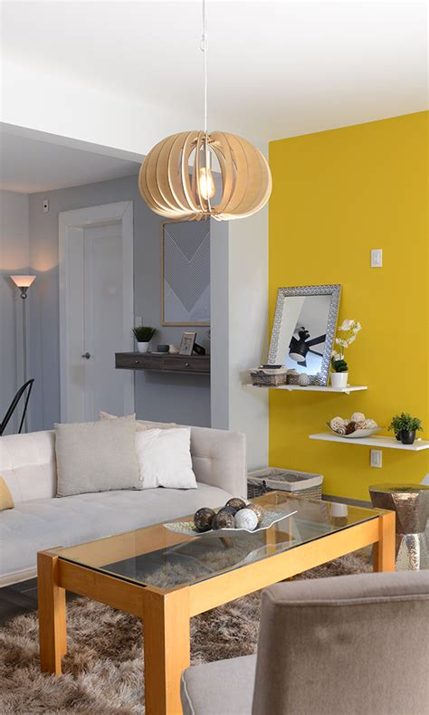 Atrévete a pintar tu sala con colores vivos como el ...