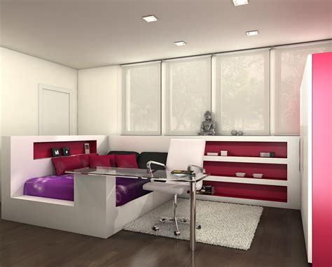 Atrezzo 3D: Habitaciones juveniles
